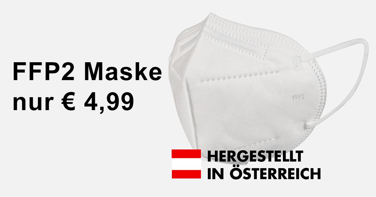 FFP2 Atemschutz Maske | PSA made in Austria